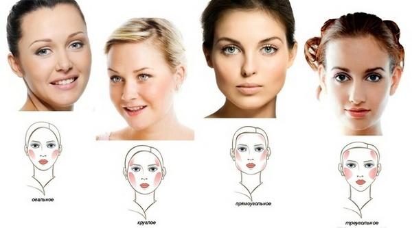 Сравнение результатов полученных измерений даст представление о том, к какому типу относится лицо