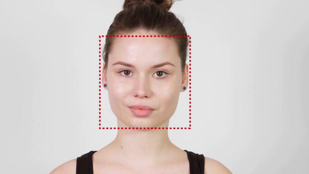 Отличительная особенность квадратного лица – равные пропорции всех его основных частей