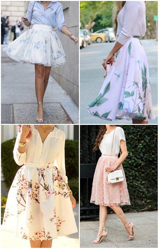 пример юбка-солнце