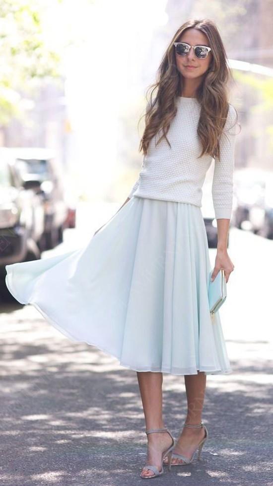 пример джемпер и юбка