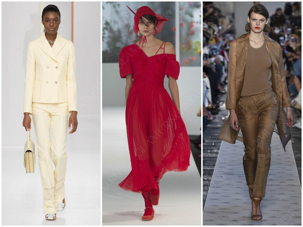 Цвет монохром от Hermès, Preen by Thornton Bregazzi, Max Mara