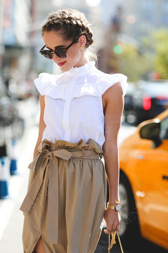 пример юбка и блуза