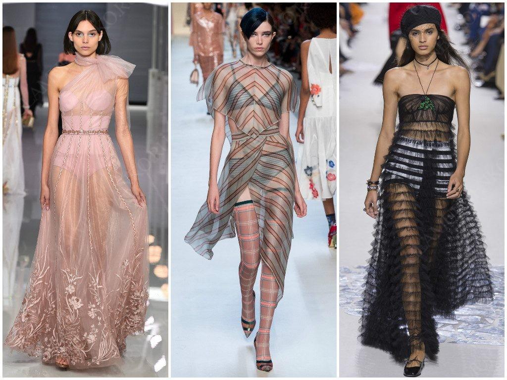 Прозрачность от Ralph & Russo, Fendi, Christian Dior
