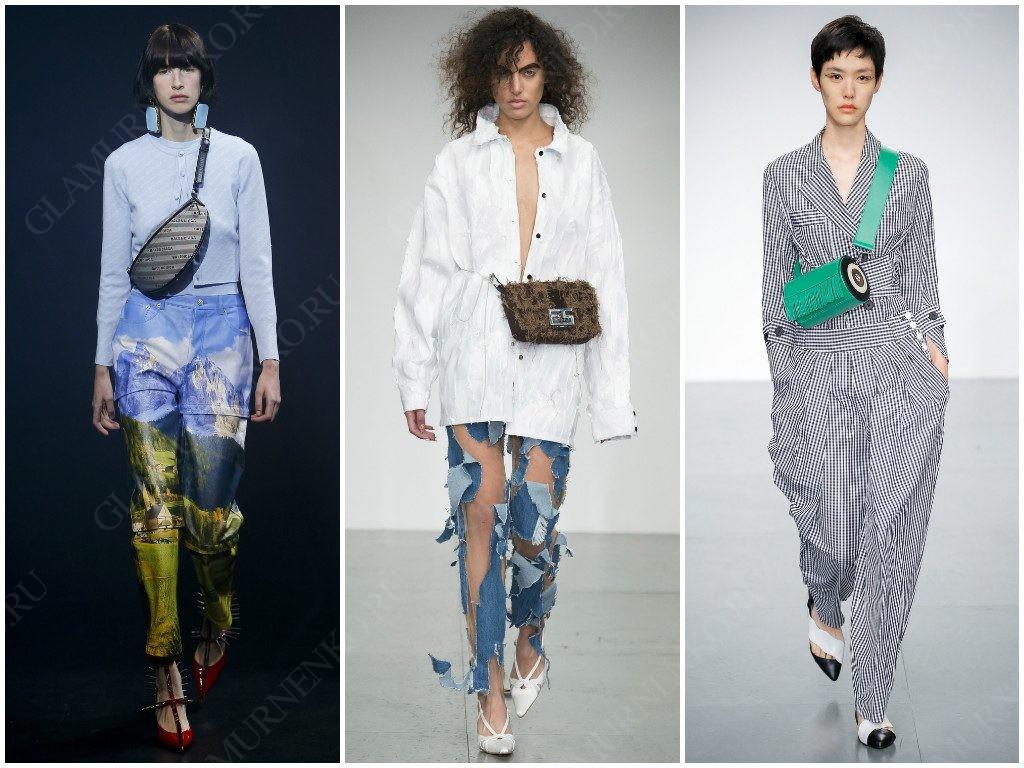 Поясные сумки от Balenciaga, Faustine Steinmetz, Eudon Choi