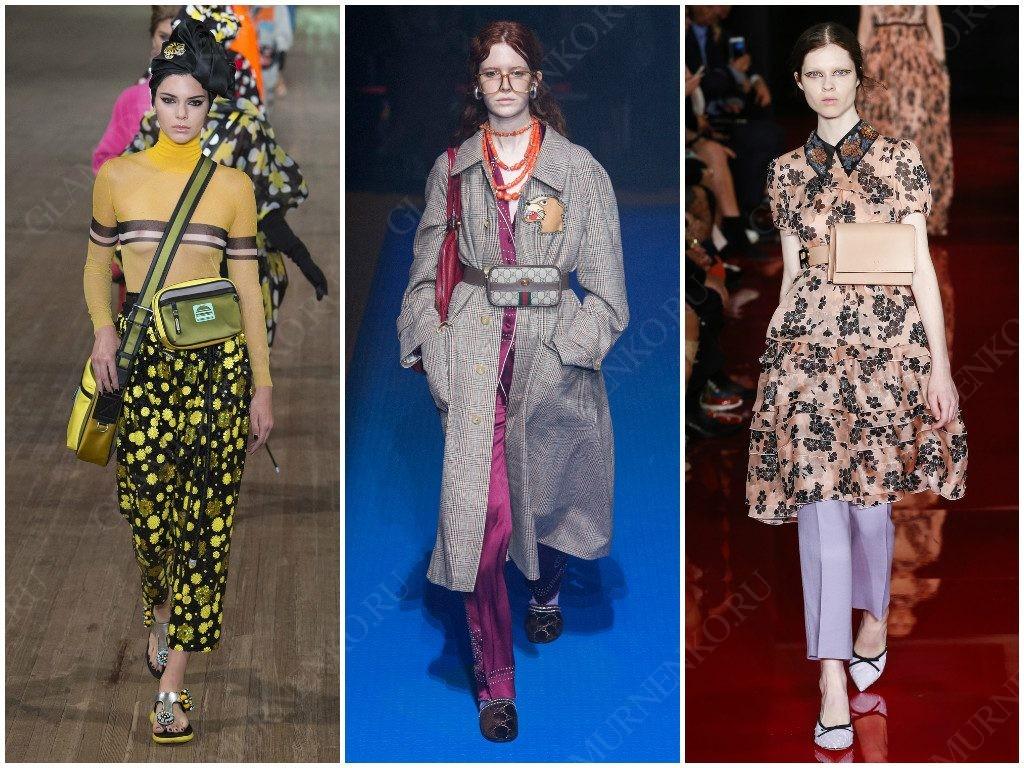 Поясные сумки от Marc Jacobs, Gucci, Rochas
