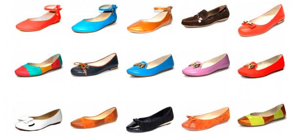 Разнообразие моделей и цветовых решений балеток позволит сделать выбор любой представительнице прекрасного пола