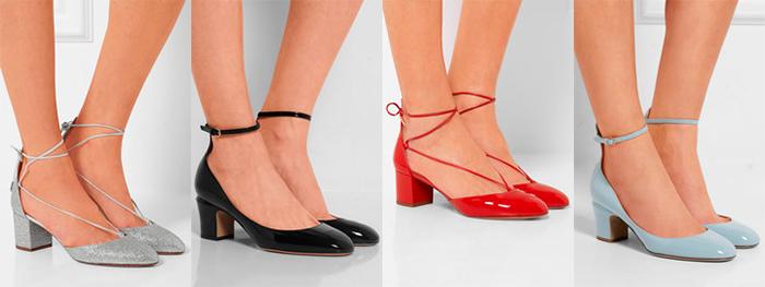 Балетки на каблуке – красота и комфорт для торжественных случаев