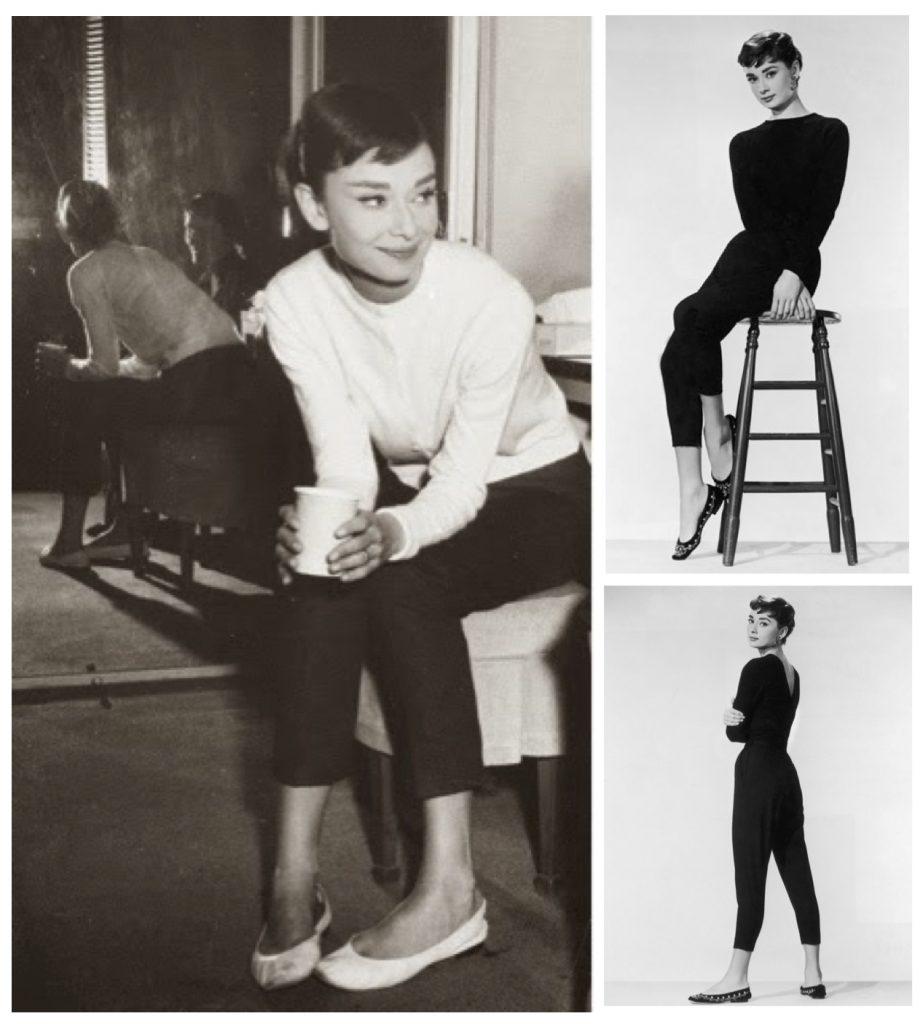 Одри Хепберн – поклонница балеток
