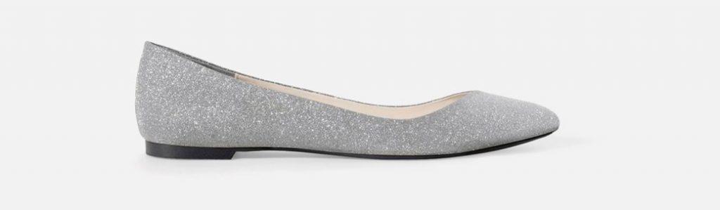 Демократичные цены испанского бренда Zara делают красивые балетки еще более востребованными современными модницами