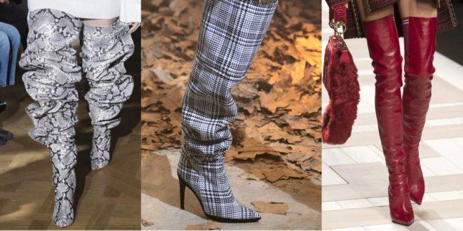 Современная мода предлагает десятки вариантов ботфортов различных цветов и моделей