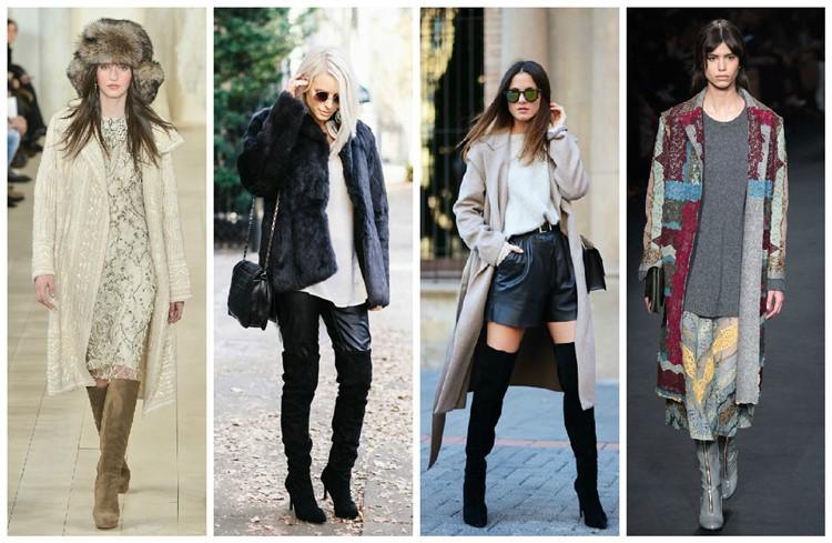 Правила составления модных капсул опираются на экспонаты модных коллекций и включают платья миди, узкие кожаные брюки с замшевой обувью, удлиненные пальто нараспашку