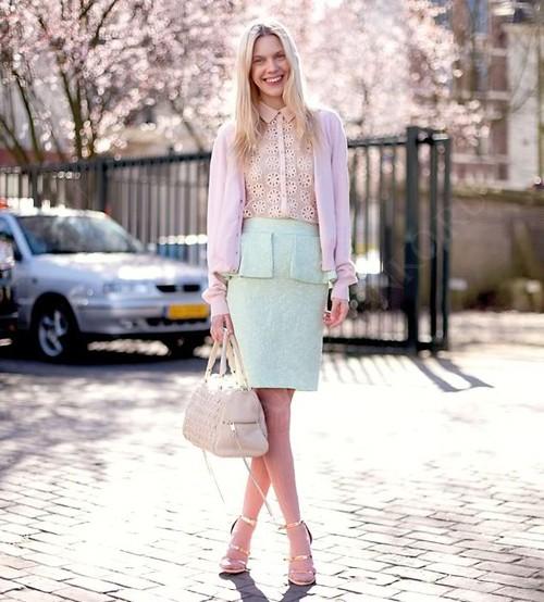 Как выбрать юбку с баской?