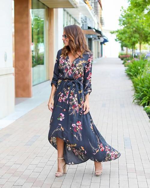 цветочное платье в запах