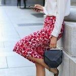 юбка-карандаш и каблук