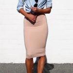 юбка-карандаш и каблук 5