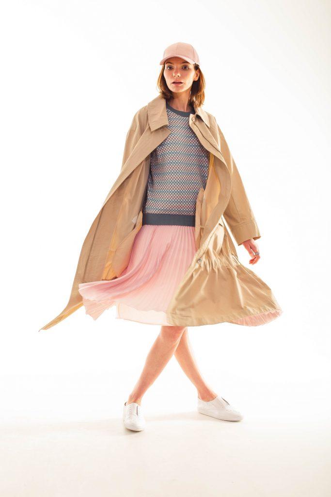 Тренч или летнее пальто
