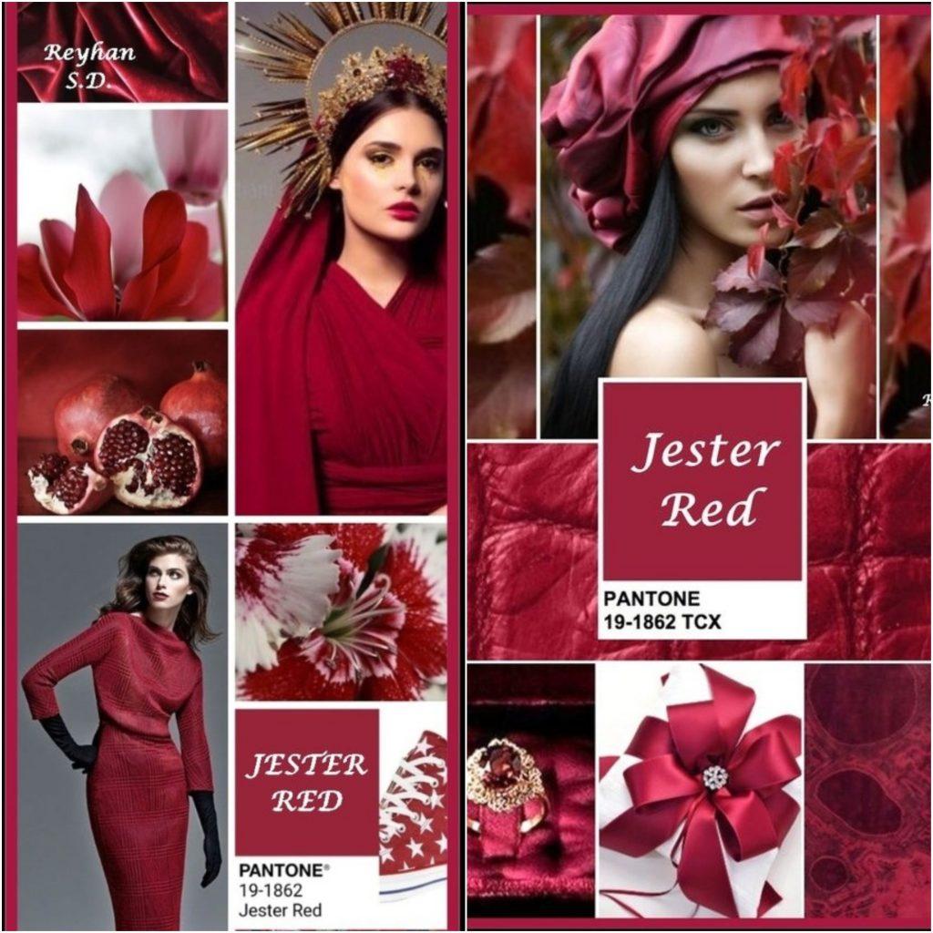 Jester Red (Красный Джокер) – под этим странным названием скрывается насыщенный и красивый винный оттенок.