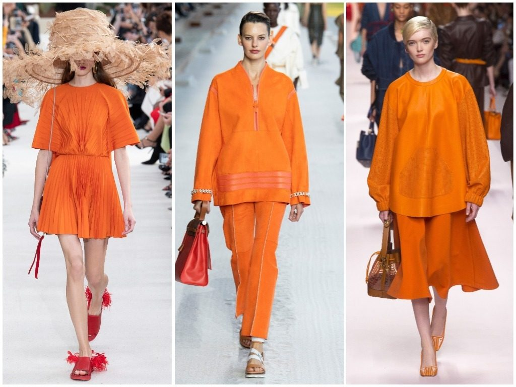 Valentino, Hermès, Fendi весна-лето 2019