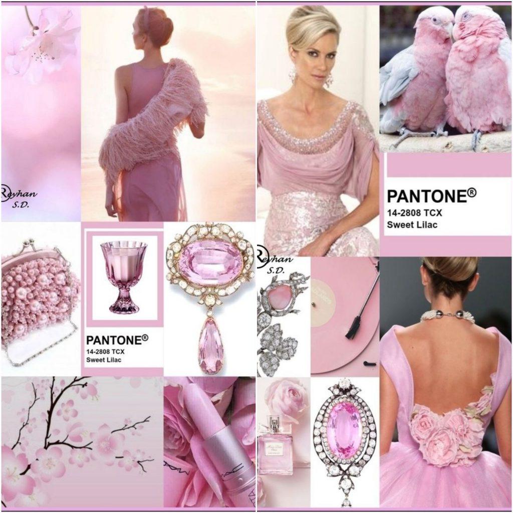 Sweet Lilac (Сладкая Сирень) – нежный, деликатный оттенок розового.