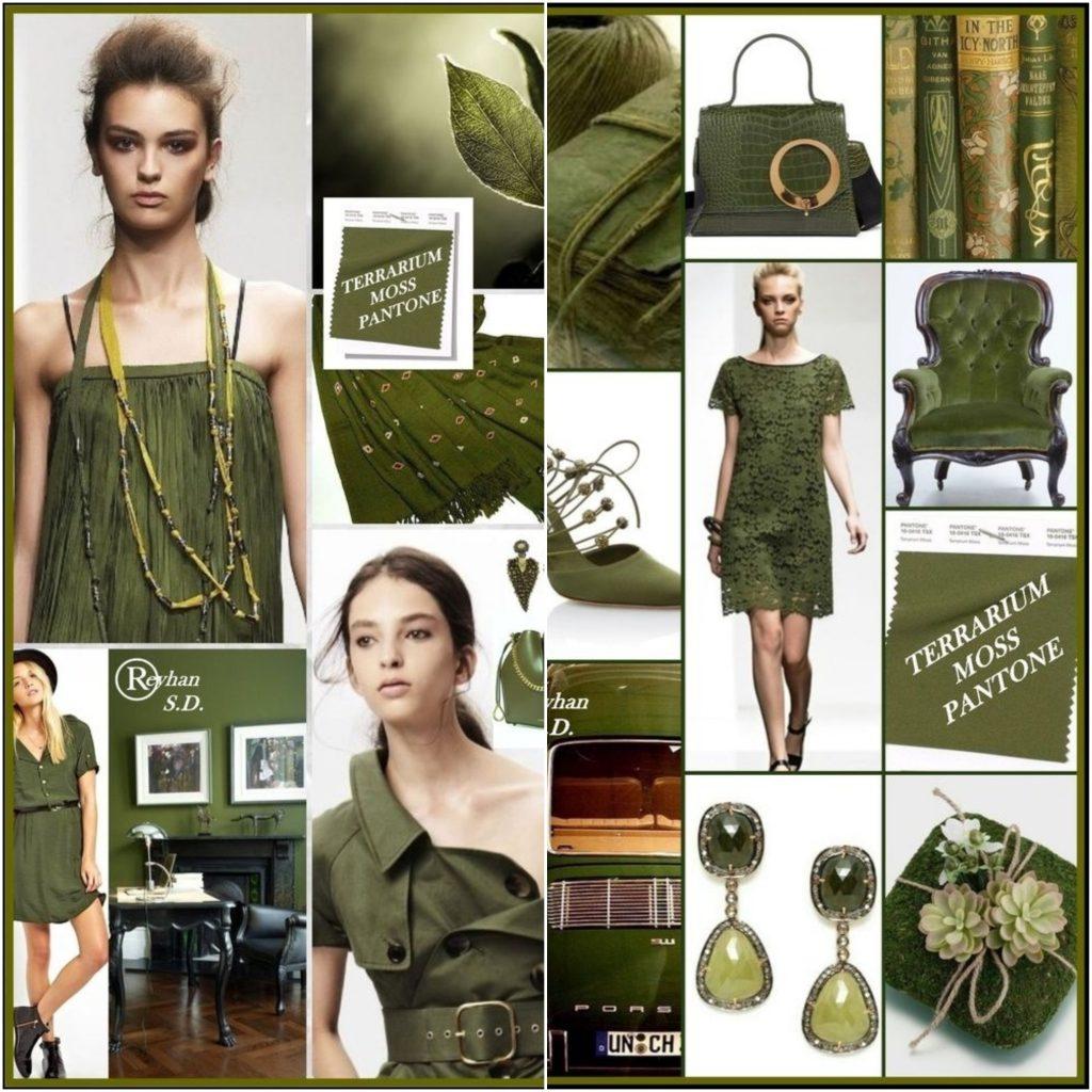Как и Pepper Stem, оттенок Terrarium Moss крайне сложно комбинировать с другими цветами