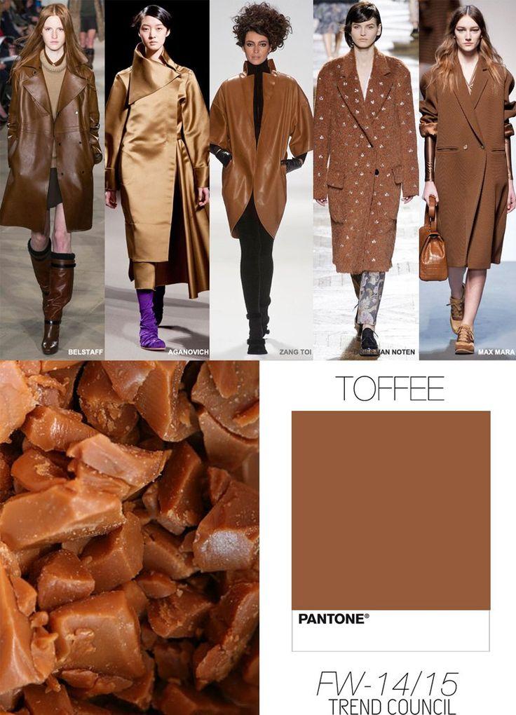 И, наконец, последний оттенок из весенне-летней модной палитры Нью-Йорка – Toffee (Ириска).
