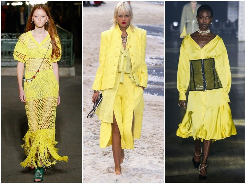 Sonia Rykiel, Chanel,  Adeam весна-лето 2019