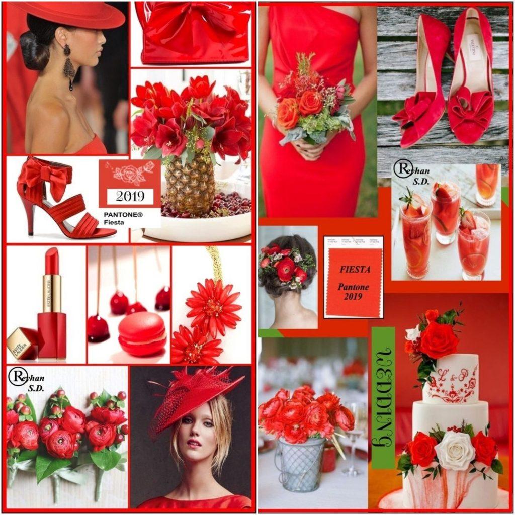 Фиеста – это красный с оранжевым подтоном.