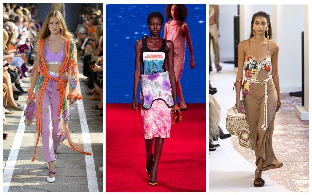 Пример образов Blumarine, Calvin Klein, Chloe