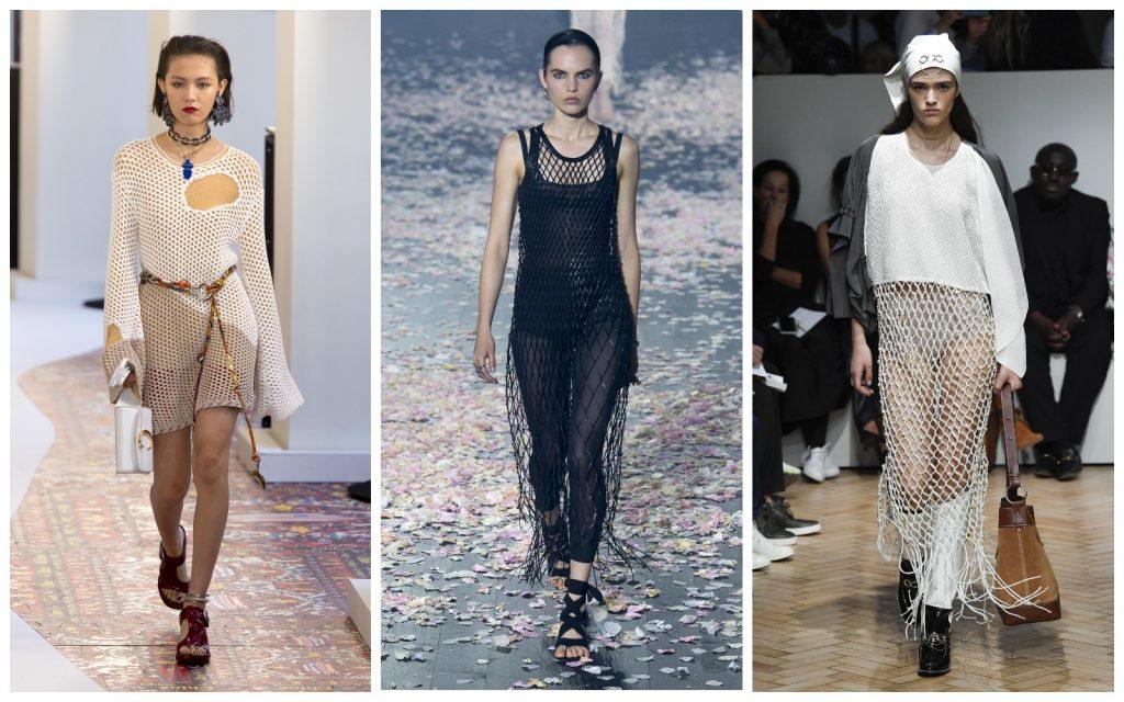 Пример образов Chloe, Christian Dior, JW Anderson