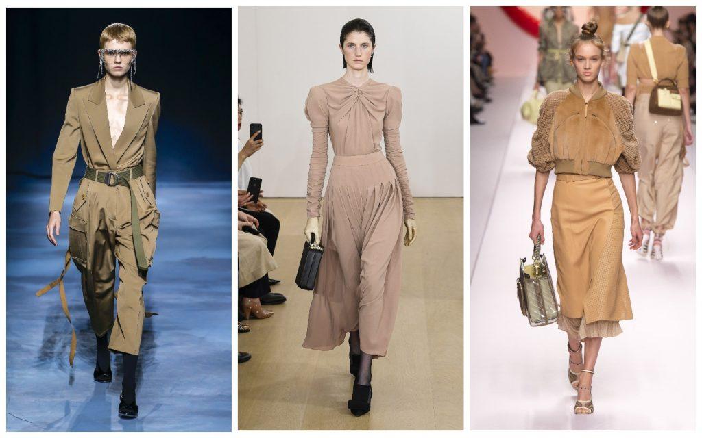 Пример образов Givenchy, Emilia Wickstead, Fendi