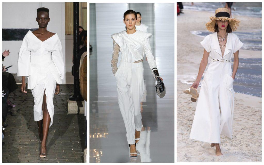 Пример образов A.W.A.K.E., Balmain, Chanel