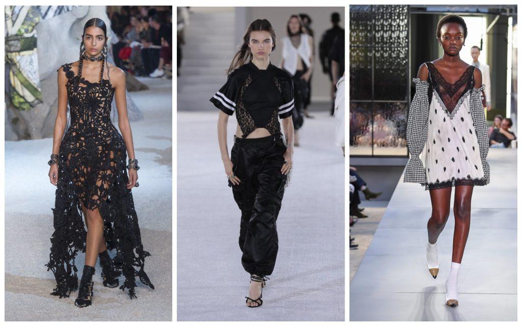 Пример образов Alexander McQueen, Alexander Wang, Burberry