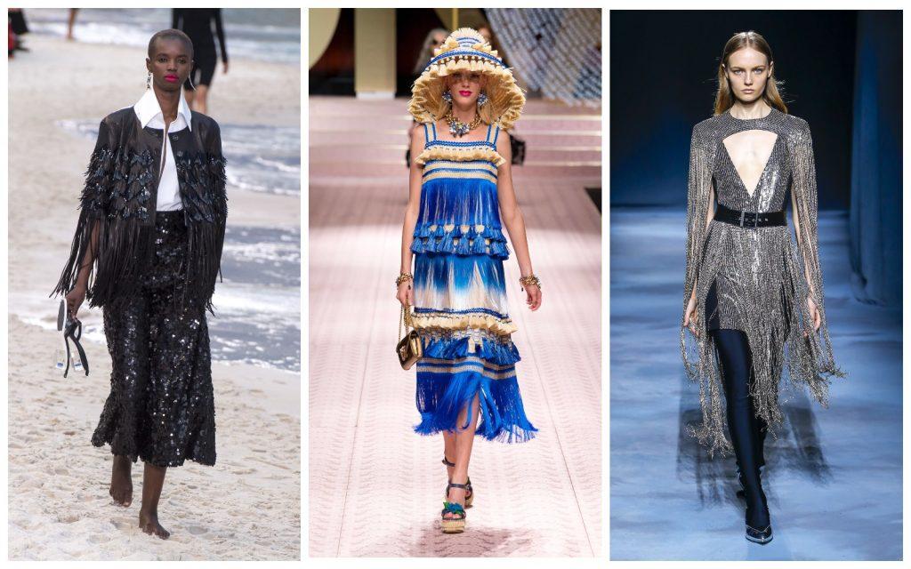 Пример образов Chanel, Dolce & Gabbana, Givenchy