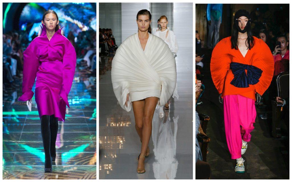 Пример образов Balenciaga, Balmain, Gucci