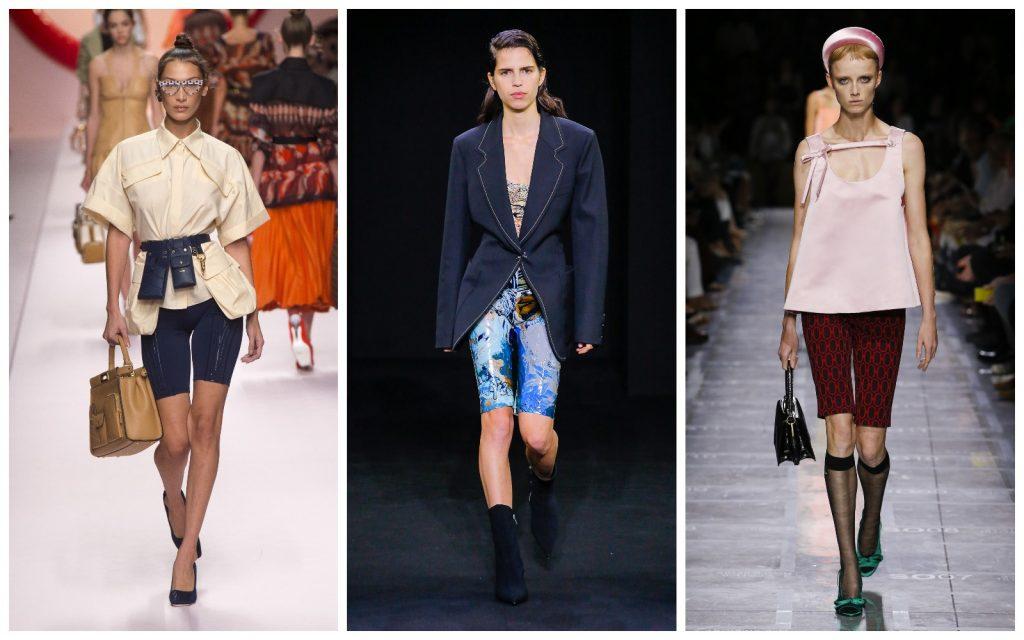 Пример образов Fendi, Mugler, Prada