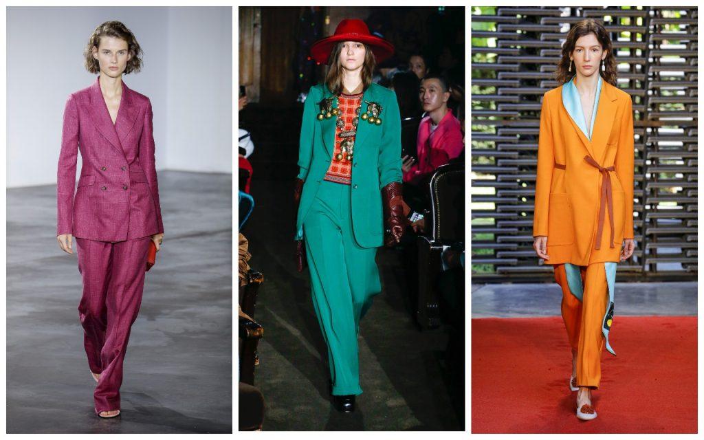 Пример образов Gabriela Hearst, Gucci, Roksanda
