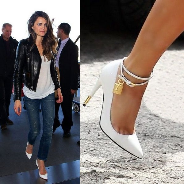 Белые туфельки отлично визуально «облегчают» ножки и походку.