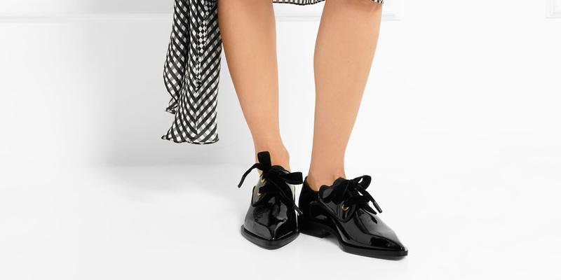 Кожаные ботинки дерби – бессмертная классика в женском гардеробе.
