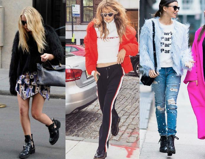 Ботинки нужно выбирать исходя из типа фигуры и создаваемого стиля.