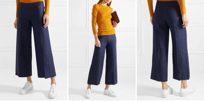 Женский свитер в паре с кроссовками — это стильно