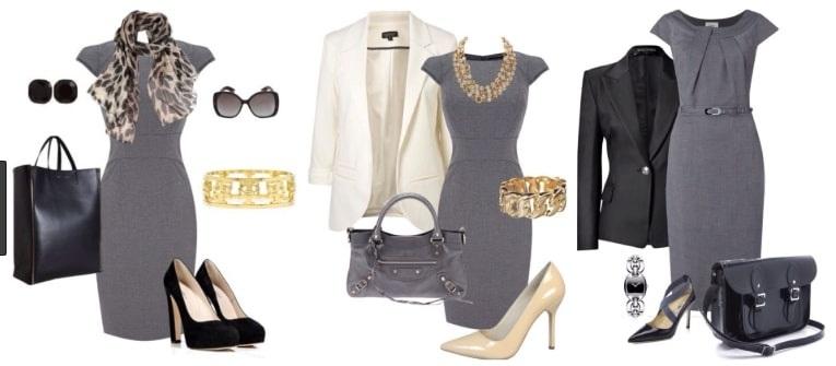 Строгие наряды должны подчеркиваться обувью классических цветов и форм