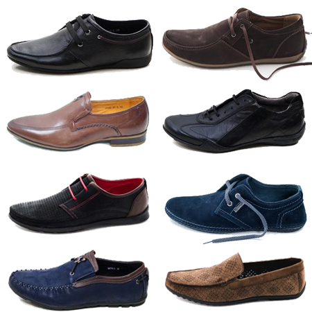 В производстве мужской обуви используются самые разные материалы.