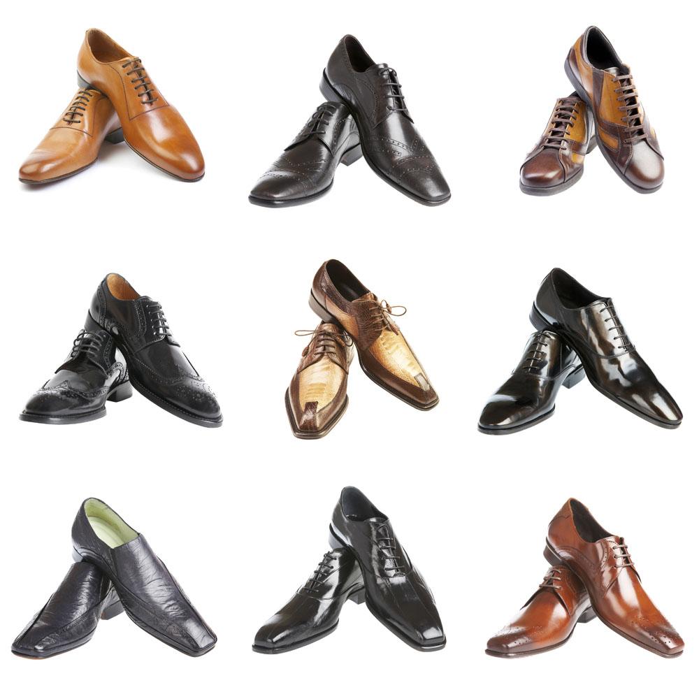 Основные оттенки актуальной мужской обуви.