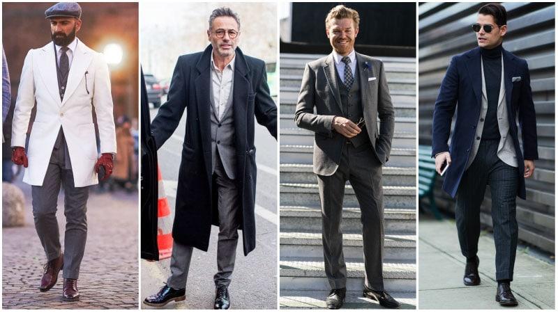 Дерби - классика делового стиля.