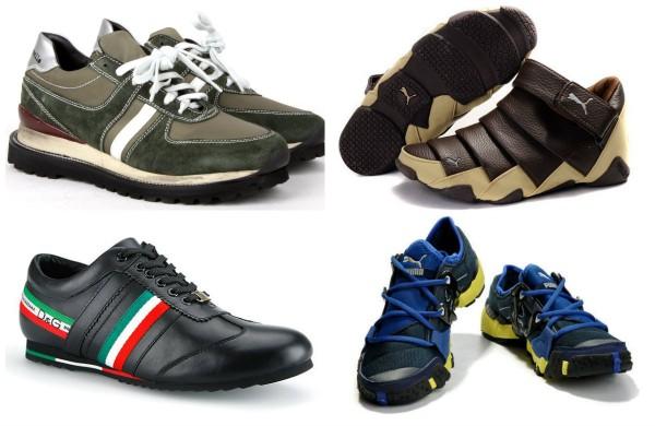 Яркая спортивная обувь сделает гардероб универсальным.
