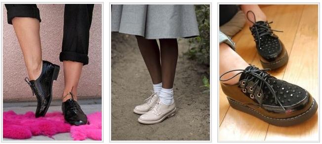 Популярные туфли для ежедневного использования
