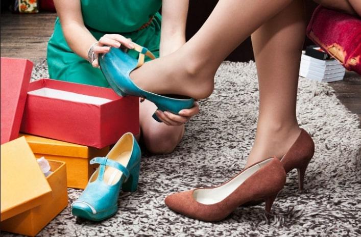 При неверной подборке на следующий день ножка может не поместиться в обуви