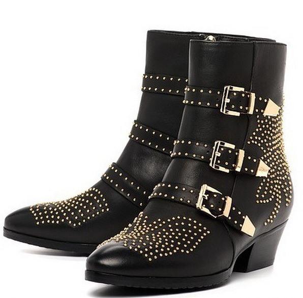 Обувь с «ковбойским» каблуком – хороший выбор для создания оригинальных аутфитов