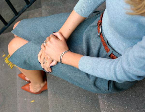 Коричневые туфли - это воплощение элегантности.