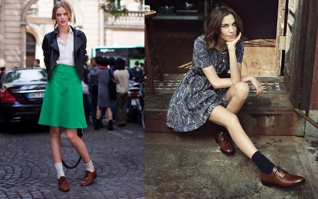 Коричневые ботинки и туфли - базовый элемент гардероба.